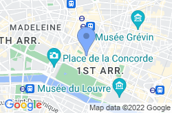Place Vendôme, location map