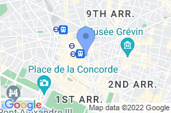 Palais Garnier, location map