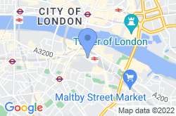 The Shard, location map