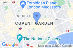 Covent Garden, location map