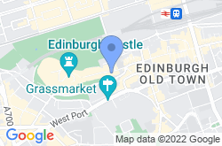 Scotch Whisky Experience, location map