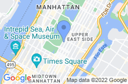 The Frick Collection, mapa de localización