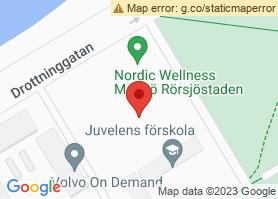 Karta som visar hur du hittar hit