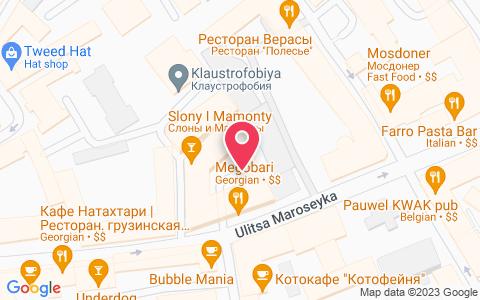Изображение местоположения события