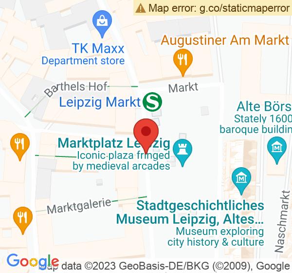 Standort: Messehaus am Markt 16