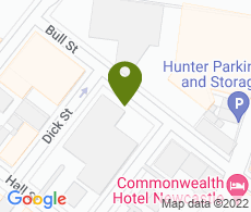 Google map of NSW Hunter