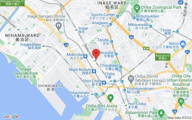 JR西千葉駅前の祟り木