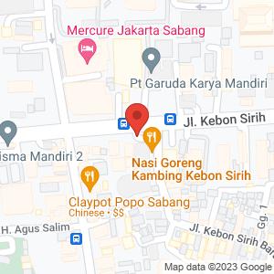 Laureoli Indonesia Map