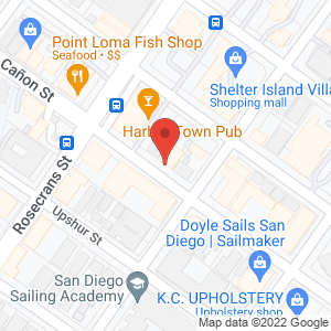 Map of Old Venice Restaurant