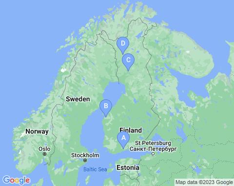 Kaart Finland