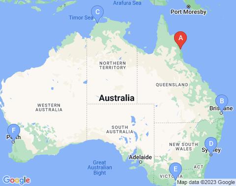 Kaart Cairns