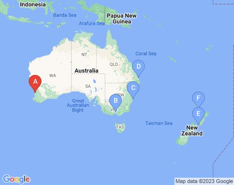 Kaart Perth