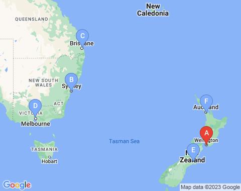 Kaart Wellington