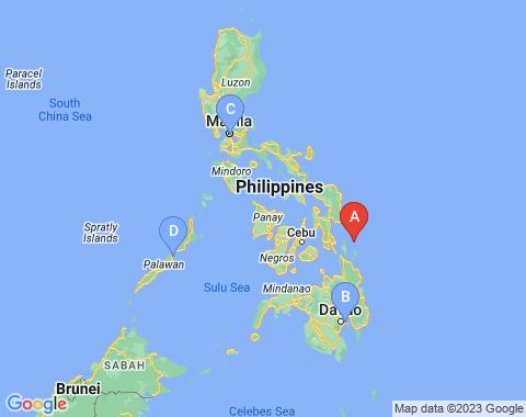 Kaart Cebu