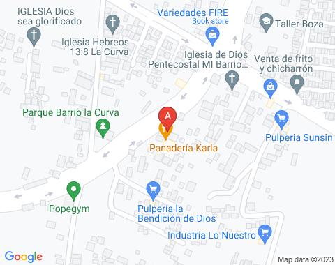 Kaart Managua