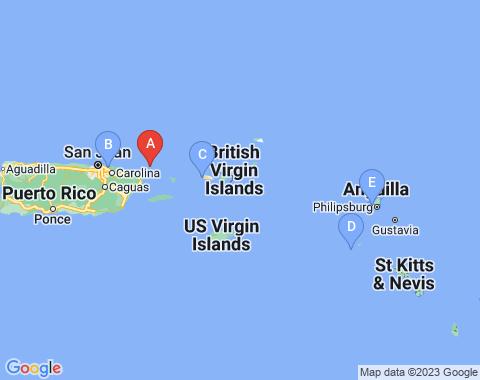 Kaart Tortola