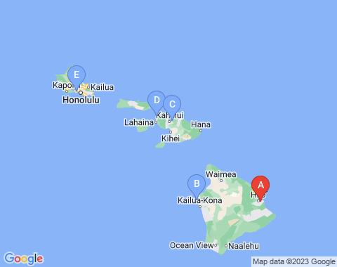 Kaart Hilo