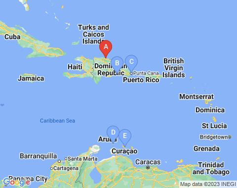 Kaart Puerto Plata