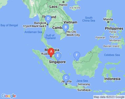 Kaart Kuala Lumpur