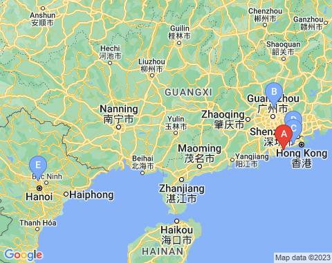 Kaart Macau