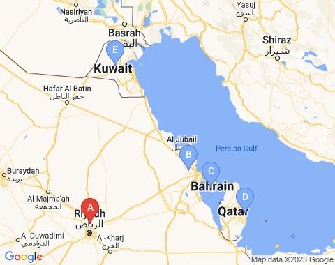 Kaart Riyadh
