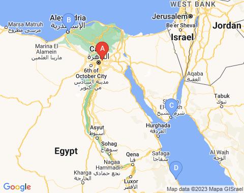 Kaart Cairo