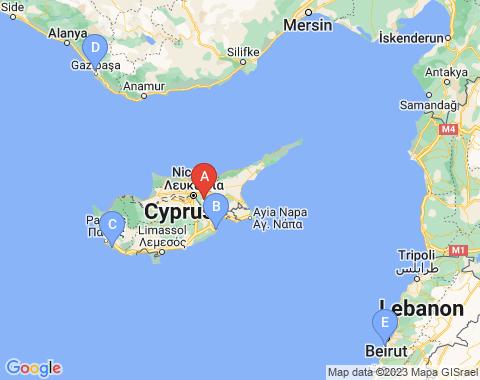 Kaart Ercan