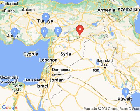 Kaart Mardin