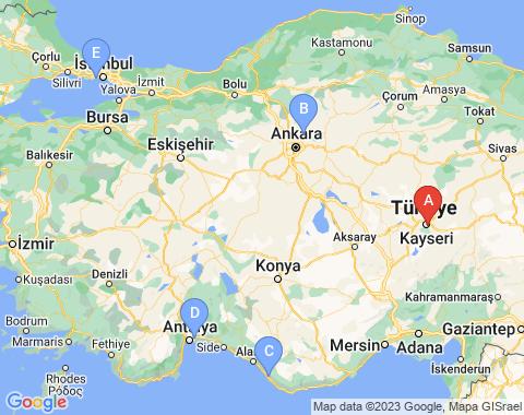Kaart Kayseri