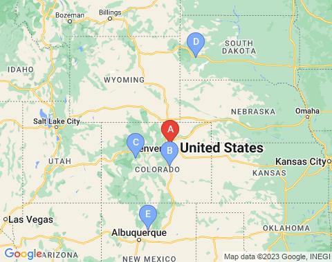 Kaart Denver