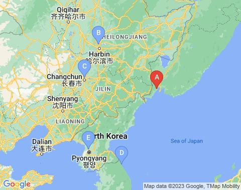 Kaart Vladivostok