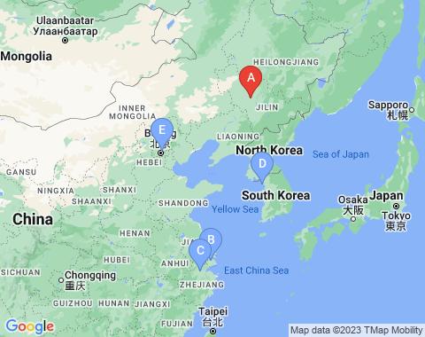 Kaart Changchun