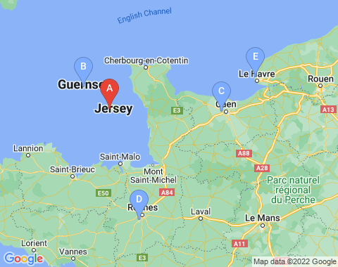 Kaart Jersey