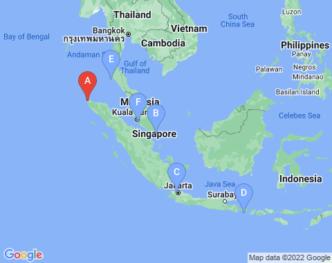 Kaart Banda Aceh