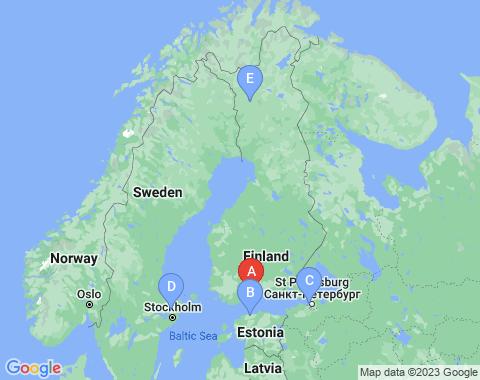 Kaart Helsinki