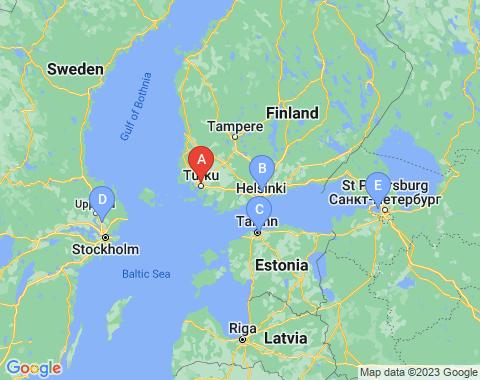 Kaart Turku