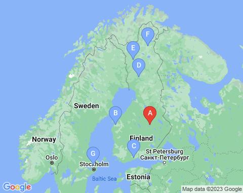 Kaart Kuopio