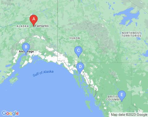 Kaart Fairbanks