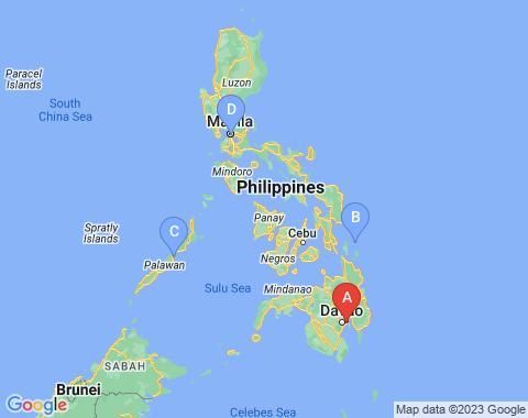 Kaart Davao