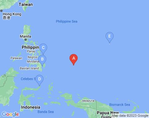 Kaart Palau