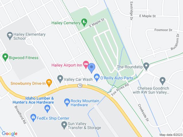 Hailey Map