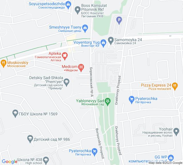 Вывоз мусора Борисовский проезд