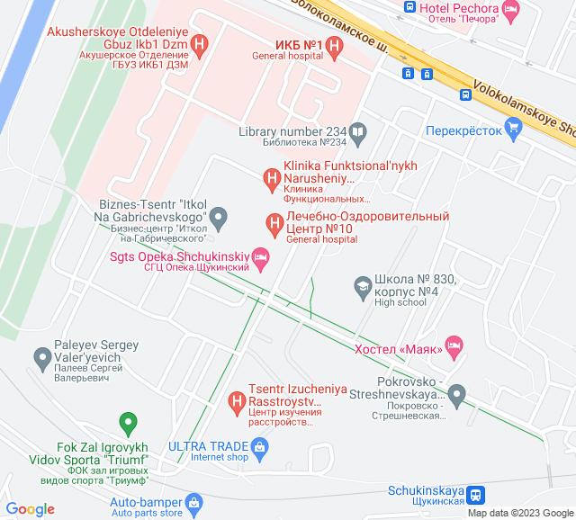 Вывоз мусора Габричевского улица