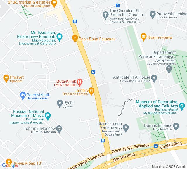 Вывоз мусора Долгоруковская улица