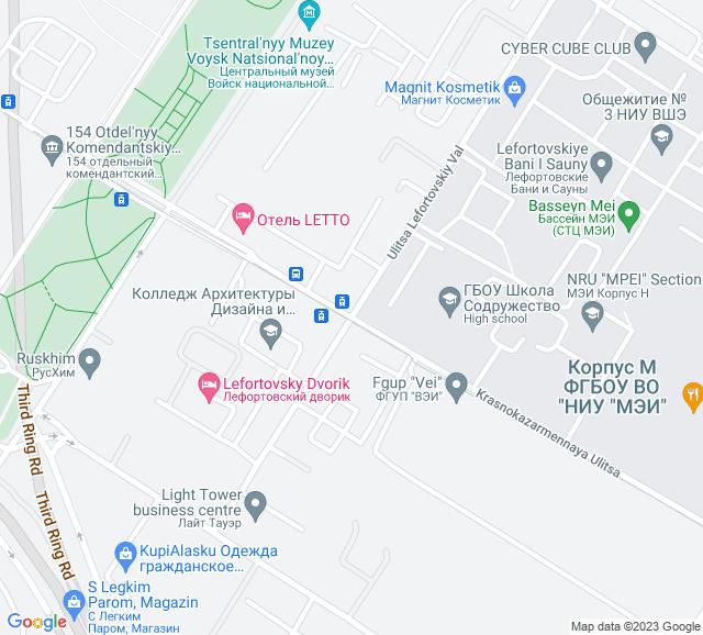 Вывоз мусора Красноказарменная улица