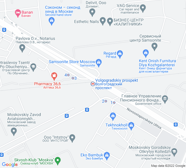 Вывоз мусора метро Волгоградский проспект