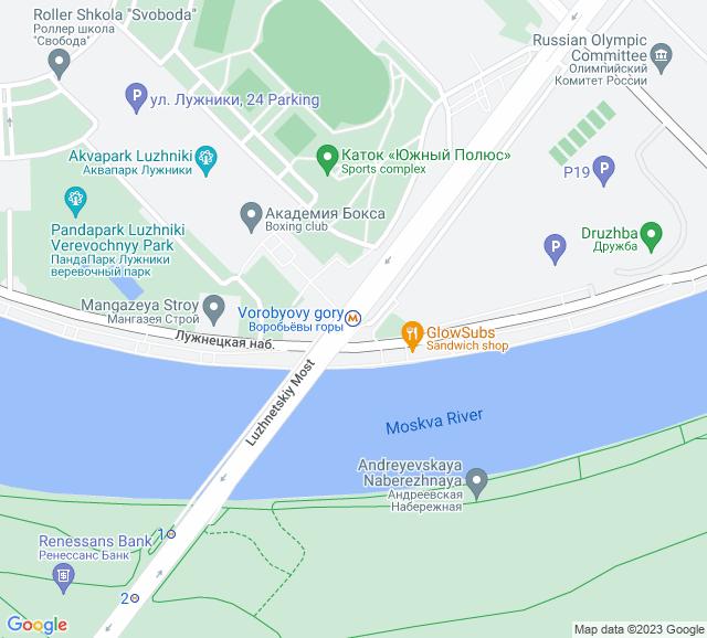 Вывоз мусора метро Воробьевы горы