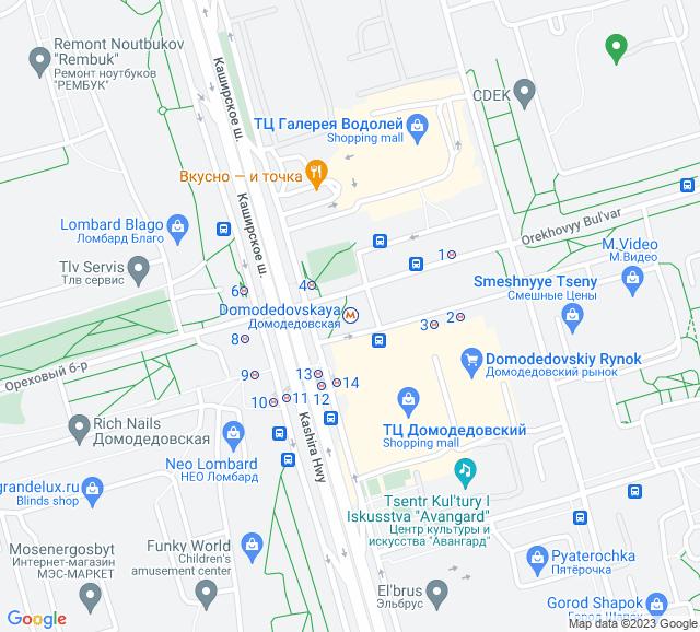 Вывоз мусора метро Домодедовская