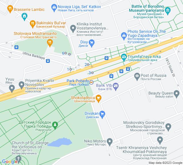 Вывоз мусора метро Парк Победы