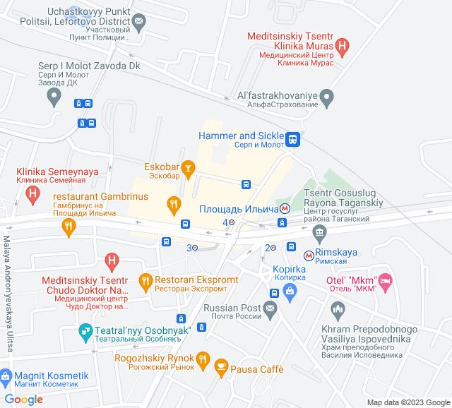 Вывоз мусора метро Площадь Ильича